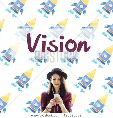 Vision Planning Motivation Organization Business Concept