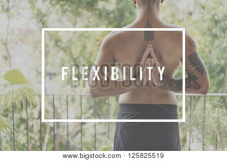 Flexibility Healthy Balance Active Creative Strategy Concept