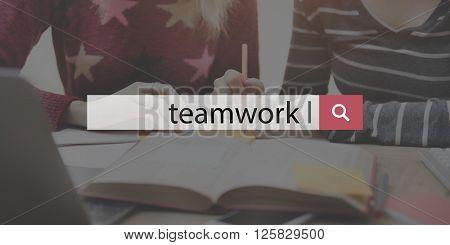 Teamwork Team Collaboration Cooperation Concept