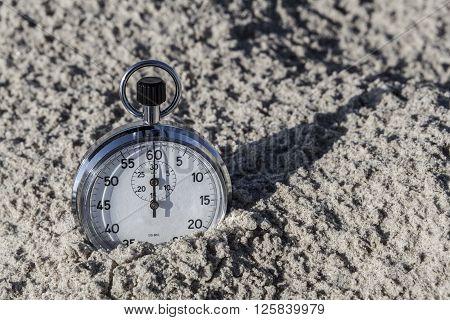 Chronometer In Sand