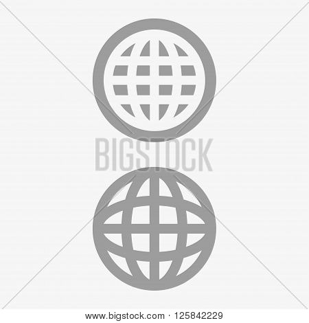 Planet  icon, planet pictograph, planet web icon. Vector illustration