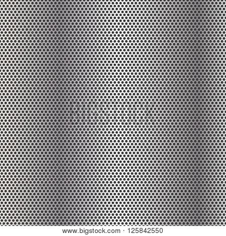 Vector  Metal Grill Seamless Pattern. Vector illustration