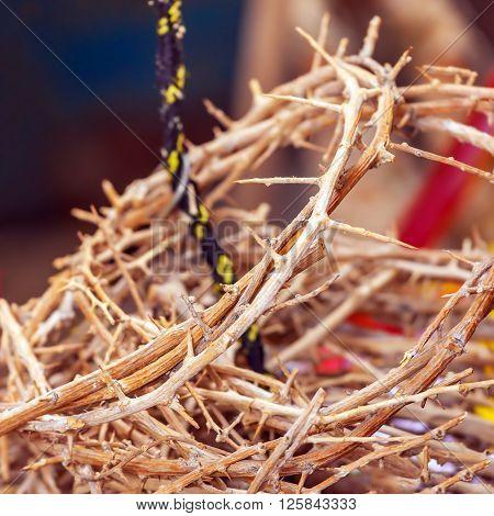 Crowns Of Thorns As Jerusalem Souvenirs
