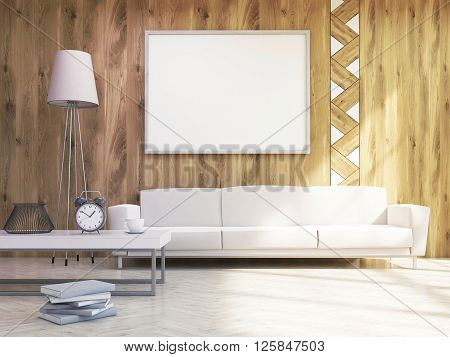 Frame Over Sofa