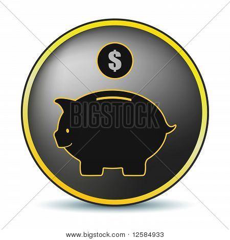 Black Pig Icon