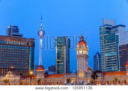 Merdeka Square In Downtown Kuala Lumpur
