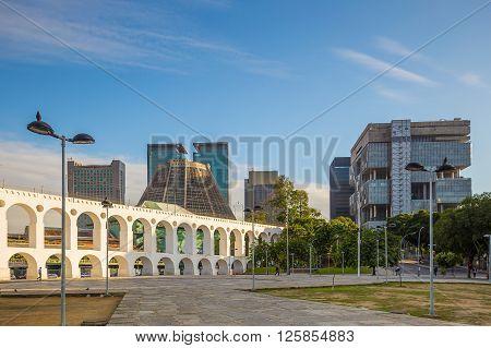 Lapa Arch In Rio De Janeiro, Brazil
