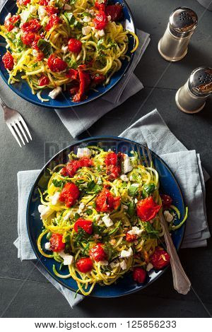 Homemade Zucchini Noodles Zoodles