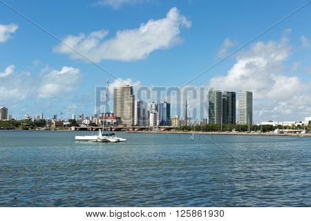 Recife skyline, Pernambuco state, Brazil