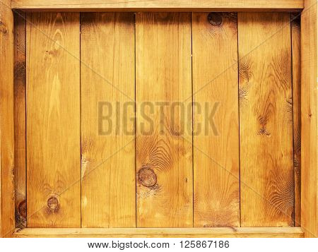 Old Wooden Planks Cracked By A Rustic Background, Selective Focus