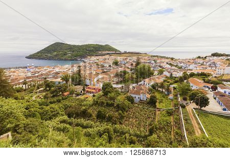 UNESCO world heritage site Angra do Heroismo, Terceira island, Autonomous Region of the Azores