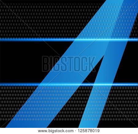 Abstract blue background. Blue background vector infographic information graphic for message and text design