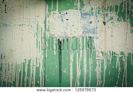 The Paint brush off of the old wall
