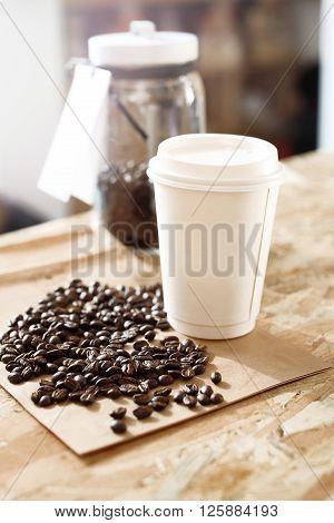 Coffee shop, Coffee beans, Coffee to go.