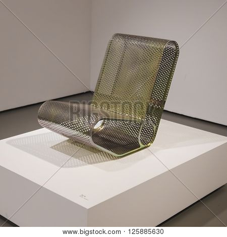 Chair On Display At Fuorisalone 2016 In Milan, Italy