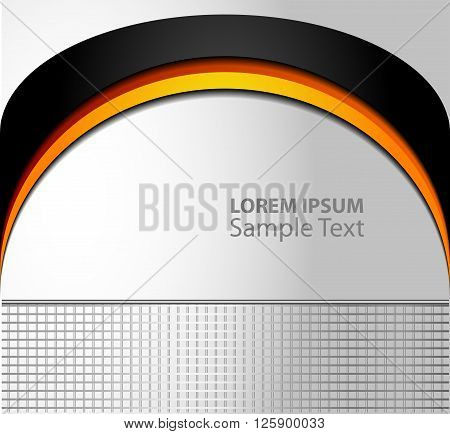 Background overlap dimension vector illustration message board for text and message design modern website