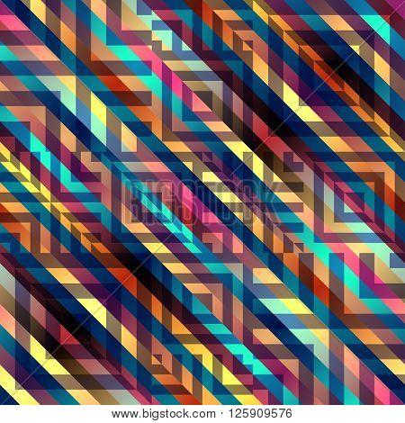 Seamless background pattern. Abstract diagonal strikes pattern.