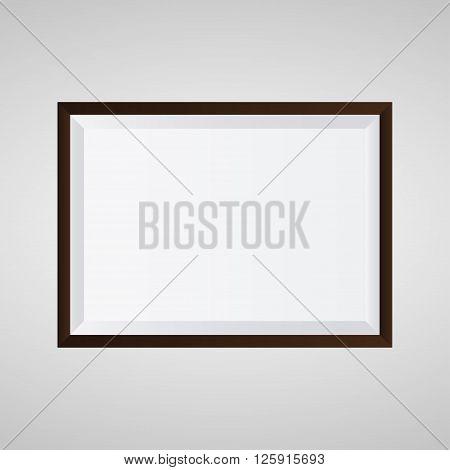 Picture frame design for image or text Eps 10 vector illustration