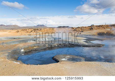 Hot Mud Pots