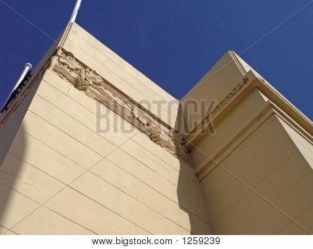 Corner Of An Art Deco Building