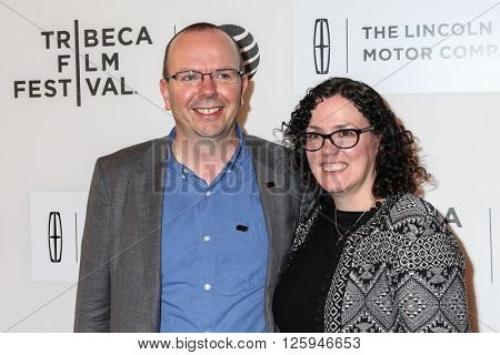NEW YORK, NY - APRIL 16: Col Needham, Karen Needham at 'All We Had' Premiere - 2016 Tribeca Film Festival at BMCC Tribeca Performing Arts Center on April 15, 2016 in New York City