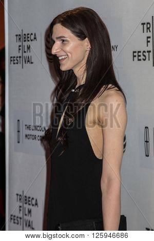 NEW YORK, NY - APRIL 16: Actress Eve Lindley attends the 'All We Had' Premiere during the 2016 Tribeca Film Festival at BMCC John Zuccotti Theater on April 15, 2016 in New York City