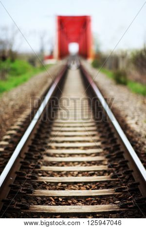 Railway abstract image