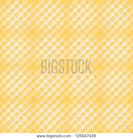 Abstract geometric plain background. Modern seamless pattern diagonally in yellow shades, in squares centered and blurred.