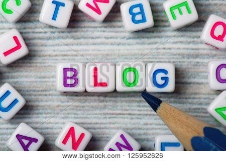 Word Blog With A Pen?il
