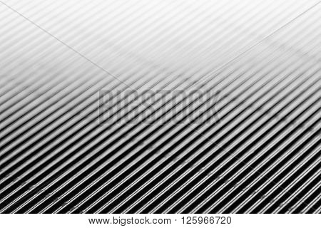 Abstract minimalistic white striped background with diagonal lines and header. The texture.