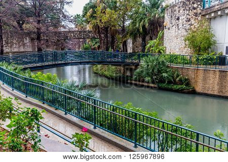 The Riverwalk At San Antonio, Texas.