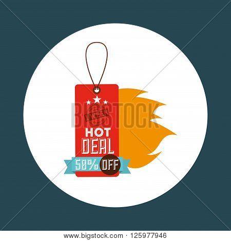 hot deals design, vector illustration eps10 graphic