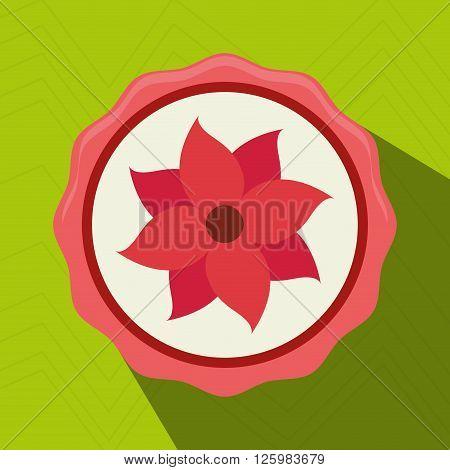 beatiful flower design, vector illustration eps10 graphic