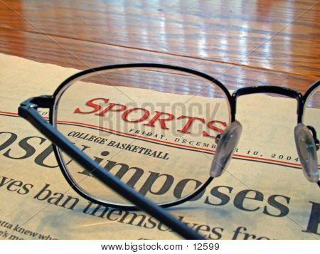 Reading The Sports Page