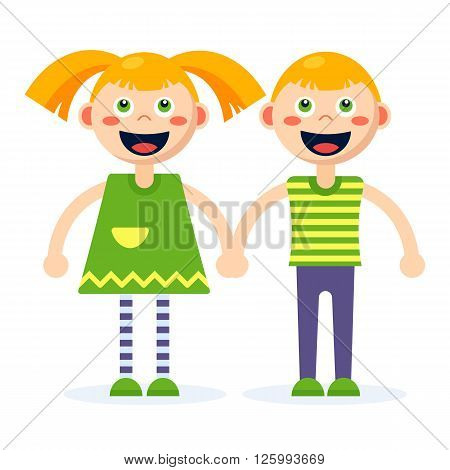 Boy And Girl Together