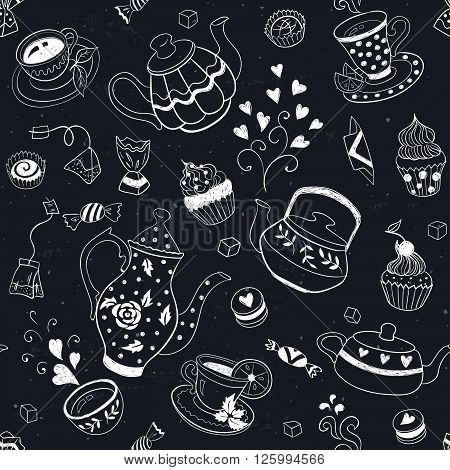 Baking Seamless Background