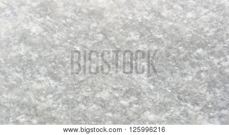 Texture of real snow with shallow deph of focus