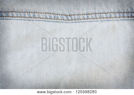 Jean Texture Clothing Fashion Background Of Denim Textile Industrial