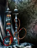 stock photo of shisha  - Hookah - JPG