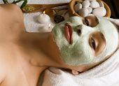 Spa Facial Mask.Dayspa poster