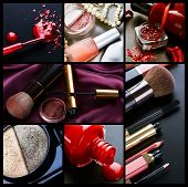 Professional Make-up collage