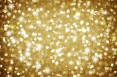 stock photo of gold glitter  - Christmas Glittering background - JPG