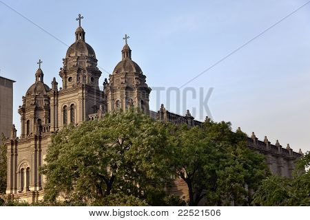 St. Joseph Church Wangfujing Cathedral  Basilica Beijing China