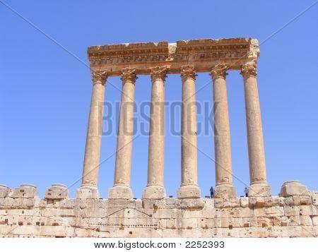 Jupiter Temple Ruins