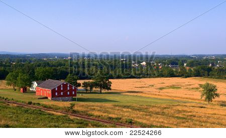 Red Barn Photo from Gettysburg National Military Park