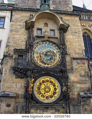 Orloj - the famous old medieval astronomical clock