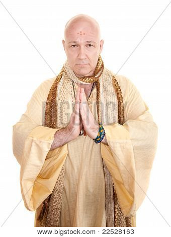 Praying Holy Man