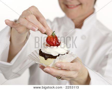 Erdbeer-Käsekuchen-Torte