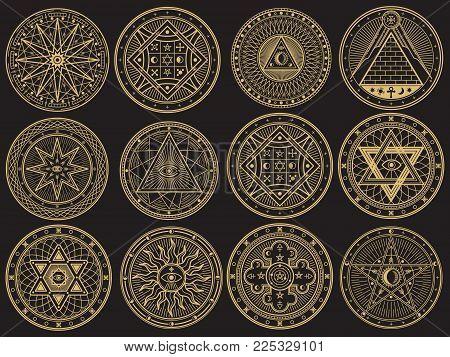 Golden mystery witchcraft