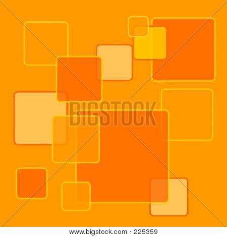 Orange Squares Background2